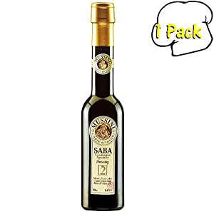 """Saba """"Mosto D'uva Cotto"""" Balsamic Dressing From Mussini, 8.5 Ounces"""