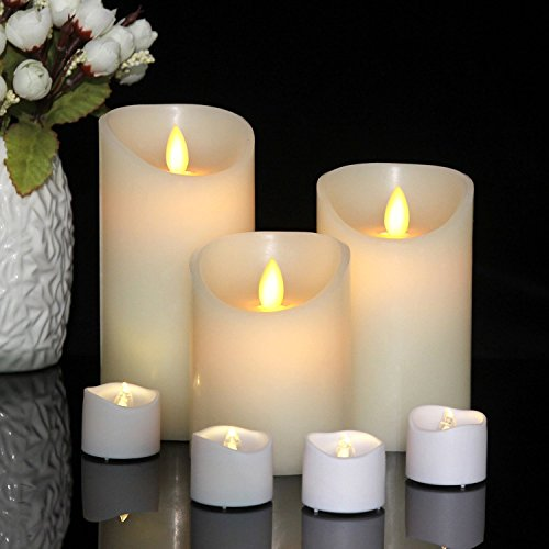 Flameless Candles Dripless Realistic Function product image