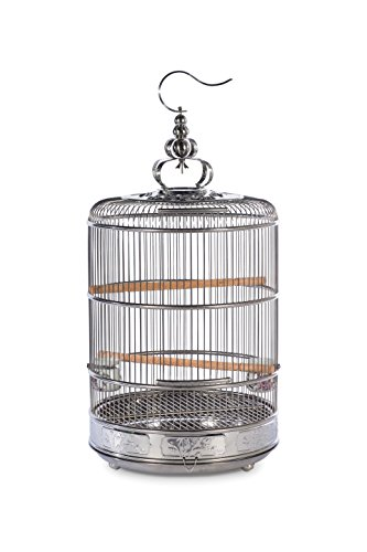 Prevue Pet Products Prevue Pet Products Empress Stainless Steel Bird Cage 151, Stainless Steel Big Bird Products Bird