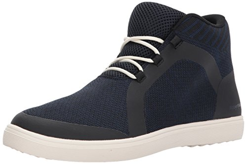 RW by Robert Wayne Men's Fenmore Sneaker, Dark Blue, 13 D US