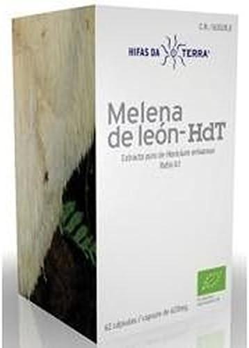 Mico Leo ( Melena de León ) - Hdt 70 cápsulas de 620 mg de Hdt (Hifas Da Terra)