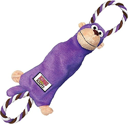 KONG Tugger Knots Monkey Dog Toy, Medium/Large (Dog Toys Monkey)