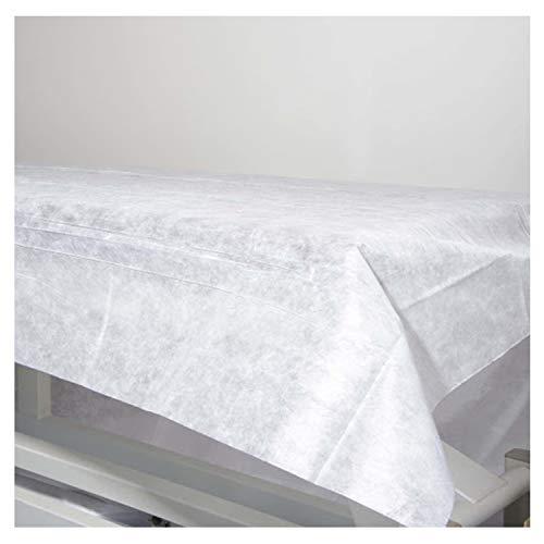 🥇 Sábanas Desechables NO Ajustables de NO Tejido 100% Reciclables de 80X200. Impermeable e Hipoalergénico. Ideal para camas
