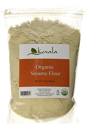 Kevala Organic Sesame Flour 16 oz 453 - Flour Kosher