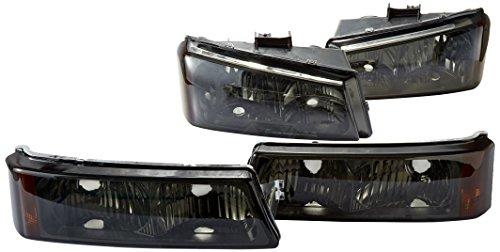Spec D Tuning 2LBLH SIV03G RS Silverado Headlights
