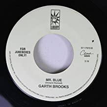 Garth Brooks 45 RPM Mr. Blue / One Night A Day
