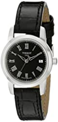Tissot Women's T0332101605300 Classic Dream Analog Display Swiss Quartz Black Watch