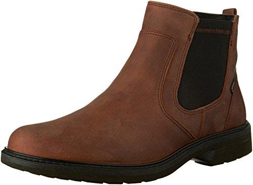 (ECCO Men's Turn Gore-Tex Chukka Boot Chelsea, Cocoa Brown, 42 EU/8-8.5 M US)