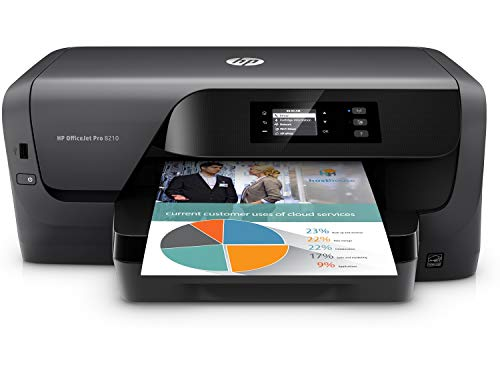 HP Officejet Pro 8210 Color Inkjet Printer Wireless 2-Sided Printing (Renewed)