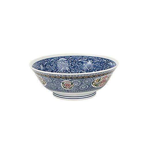 XWQSHANGP Home Big Wrist Japan Imported Retro Palace-Style Ceramic Bowl Soup Bowl Big Bowl Soup Bowl Japanese Tableware Hotel Tableware, Home Retro Soup Bowl