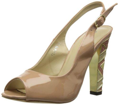 Griffith Park Flc419 - Sandalias de vestir Mujer Beige