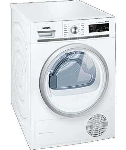 Siemens WT47W568IT Libera installazione Carica frontale 8kg A++ Bianco asciugatrice