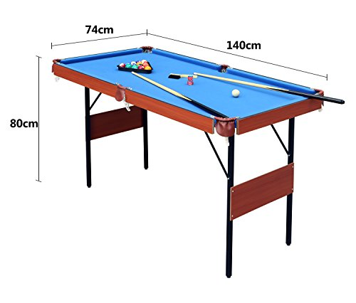 HLC-55-Folding-Space-Saver-Pool-Billiard-Table