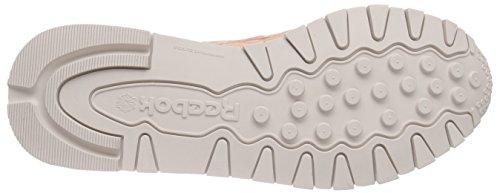 Reebok Cl Lthr Transform, Zapatillas de Running Mujer Rosa / Blanco (Desert Stone/White)