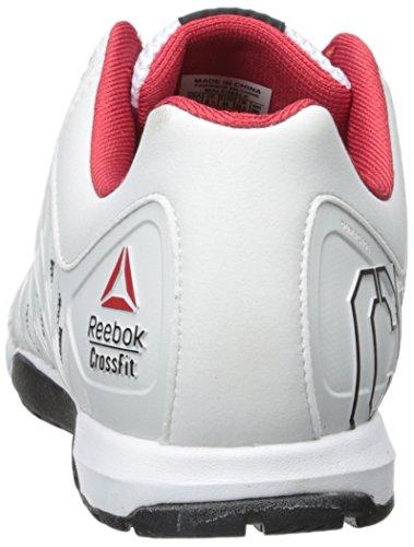 Scarpe Da Allenamento Reebok Uomo Crossfit Nano 4.0 Porcellana / Nero / Bianco / Rosso Eccellente