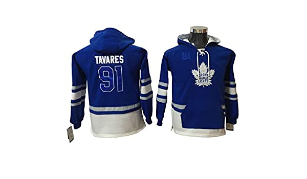 Tavares 91 Leafs Hockey Hoodie Men Onesie Sweatshirt Champion Tank top Sweaters Pullover Jersey