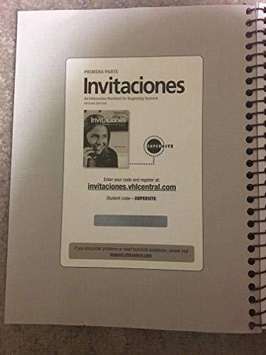 Invitaciones (An Interactive Worktext for Beginning Spanish, Primera Parte)