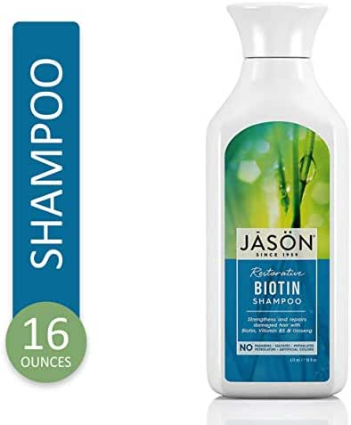 Shampoo & Conditioner: JĀSÖN Biotin
