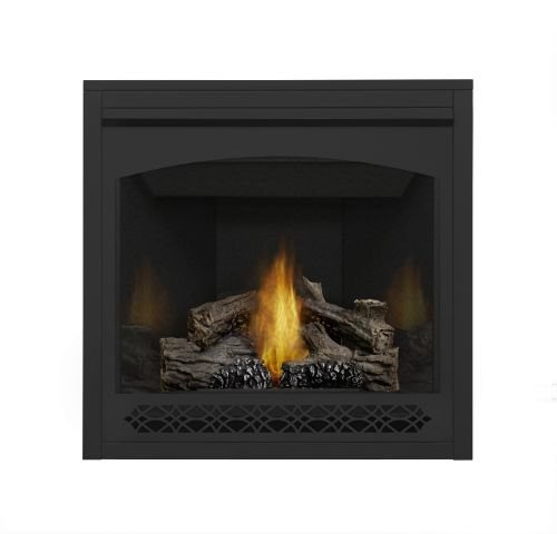 Napoleon B35 Ascent MV Fireplace w/Porcelain Panel & Heritage - Fireplace Porcelain Napoleon