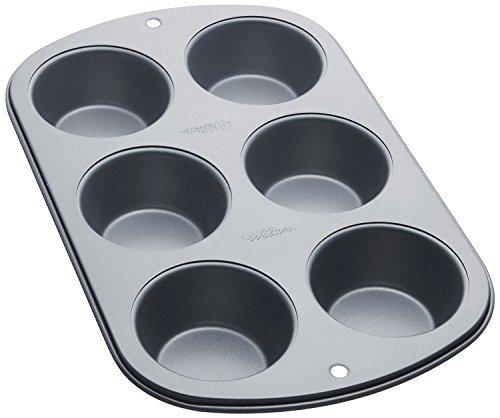 Wilton 6-Cup Jumbo Muffin Pan