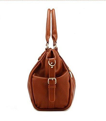 Capacidad Señoras De Moda Gran Otomoll Paquete Paquete Nuevo De Bolso De Bolsa Hombro wdfA7d