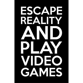 0c87fb319bcf Amazon.com  Damdekoli Escape Reality Gaming Poster