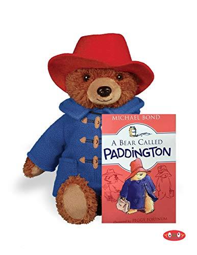 Plush Bear Gift Set - Paddington Bear Plush Stuffed Animal (Paddington Gift Set)