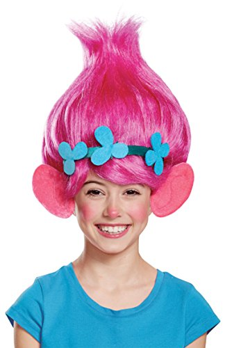 Poppy Child Trolls Wig, One Size