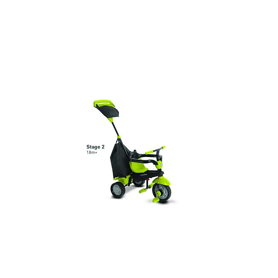 smarTrike Glow Baby Tricycle, Green
