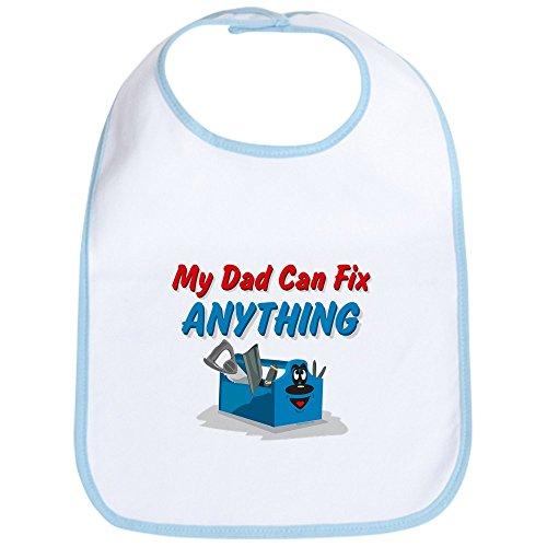 (CafePress Fix Anything Dad Bib Cute Cloth Baby Bib, Toddler Bib)