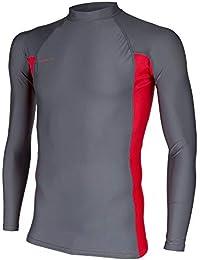 Men's Basic Skins UPF 50+ Long Sleeve Rash Guard