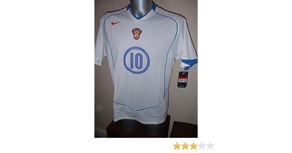 Nike Rusia URSS Mostovoi Camisa Jersey de fútbol Fútbol Vintage tamaño Adulto Grande Euro 2004 Celta Vigo Spartak de Moscú: Amazon.es: Deportes y aire libre