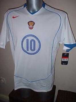 5da3f3b31 Nike Rusia URSS Mostovoi Camisa Jersey de fútbol Fútbol Vintage tamaño  Adulto Grande Euro 2004 Celta Vigo Spartak de Moscú  Amazon.es  Deportes y  aire libre