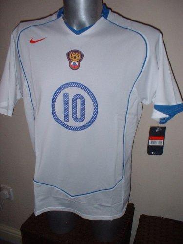 Nike Rusia URSS Mostovoi Camisa Jersey de fútbol Fútbol Vintage tamaño Adulto Grande Euro 2004 Celta