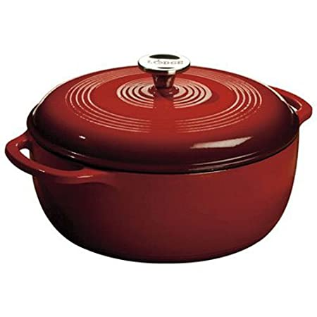 Review Lodge 6 Quart Enameled