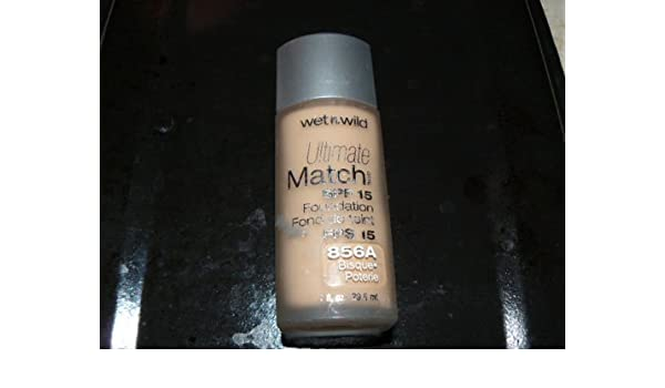 Amazon.com : Wet n Wild Ultimate Match SPF 15 Foundation 856A Bisque by Wet n Wild : Beauty