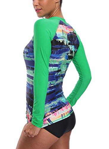 Free shipping charmleaks womens rash guard shirts long for Womens rash guard shirts