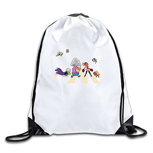 Price comparison product image JADR Custom Cute Cartoon Role Poster Walk Large Capacity Boys And Girls Bag White