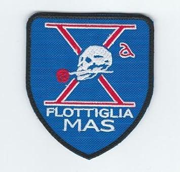 Patch, parche, bordado - flottiglia Mas de Italia Lotta flotador unidad especial italiano Marine Control Buceo Ed incursori flotta tauchern: Amazon.es: ...