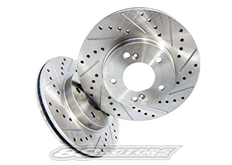 Amazoncom Acura TL Performance Brake Rotors Rear - 2003 acura tl rotors