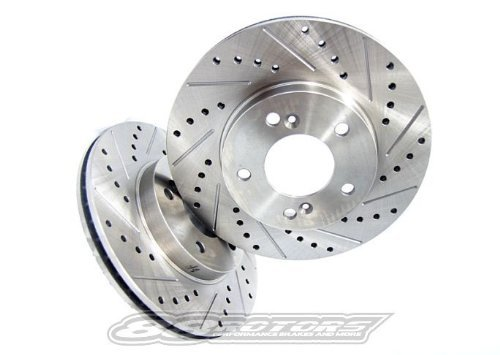 88 Brake Rotors - 2004-2008 BMW 545i 550i E60 Performance Brake Rotors (Front)