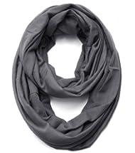 Diff Colors Premium Checker Plaid Soft Faux Fur Infinity Loop Circle Scarf
