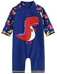 Vaenait Baby 0-24M Baby Boys Swimsuit Rashguard Swimwear Dino Pop