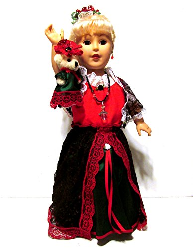 Christmas ensemble for 18 inch doll