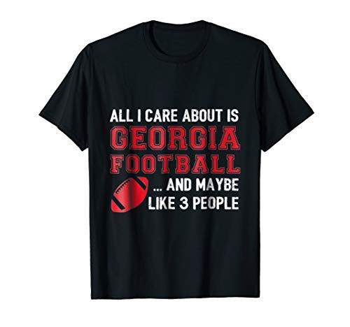 Georgia Game Day Funny Football (Game Day Football T-shirt)