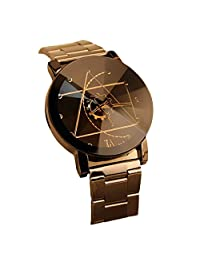 FEITONG Fashion Man Stainless Steel Quartz Watch