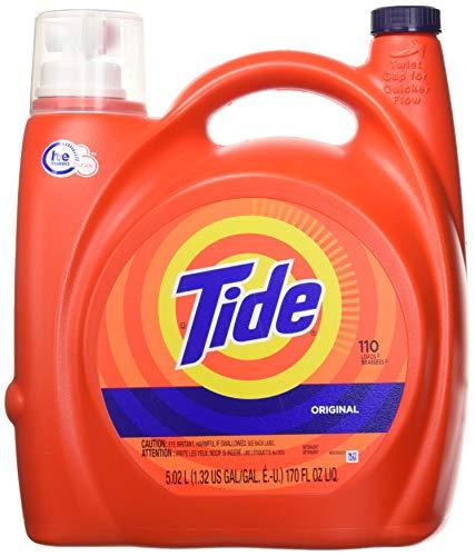 Tide 8317 High Efficiency Laundry Detergent, 170 Fl. Oz. 110