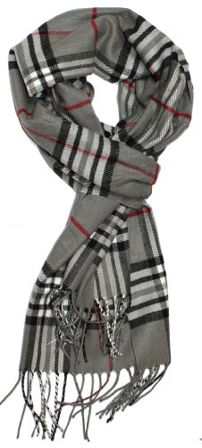 Classic Cashmere Winter Scarf Plaids product image