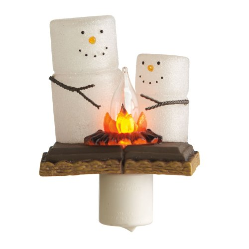 Smores Night Light made our list of cool gadgets for our 10 Campfire Smores Recipes Smore Variations That Will Make Your Mouth Water