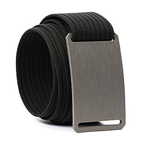 GRIP6 Web Belt- Adjustable Nylon Belt for Men & Women